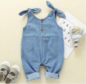 Kids and Babies Fashion Trends 2020-Unisex Denim Jumpsuit