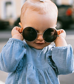 Used baby clothes-Toddler-With-Sunglasses