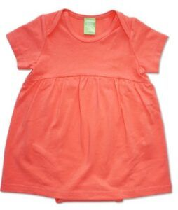 Sustainable Infant Baby Clothes-Pink Sustainable Baby Dress