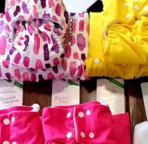 Pea pod cloth nappies- 3 designs Pea pod cloth nappies