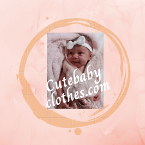 just cute baby clothes logo