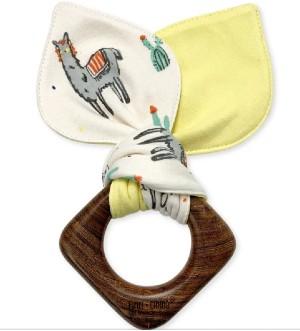 Best Organic baby toys-baby teething ears lamas
