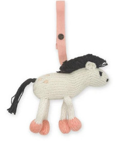Best Organic baby Toys-Hand knitted organic horse