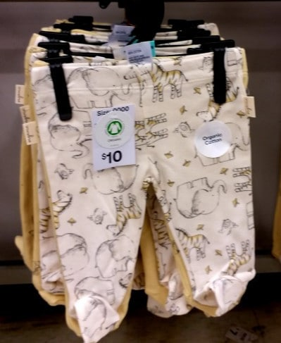 Affordable Organic Baby Clothes-Kmart Organic Baby clothes
