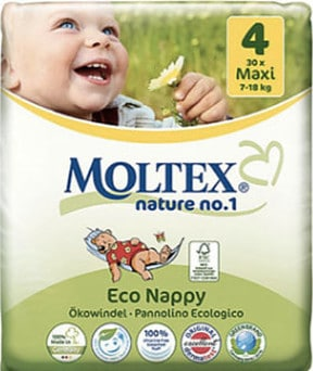 Bulk Nappies in Australia-Pack of Eco Moltex Nappies