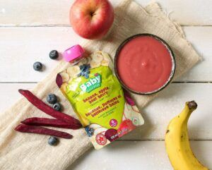 What is organic baby food?-A pack of store bought baby food