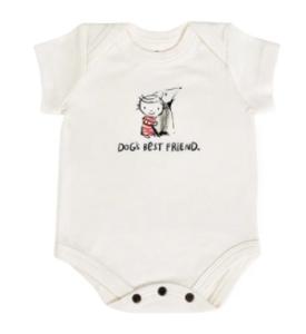 Best Newborn Graphic onesies-Puppy dog love onesies
