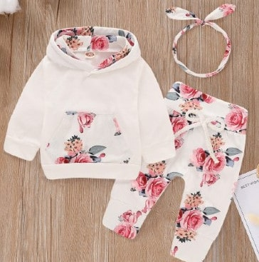 Trends in baby clothes for girls-