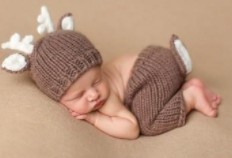 Pat Pat baby clothes-Cute knitted rain deer set