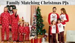Family Matching Christmas PJs