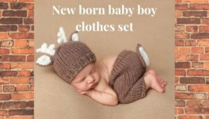 New born baby boy clothes set