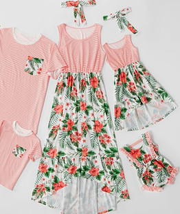 Family matching PJs-Complete matching outfit for the whole family