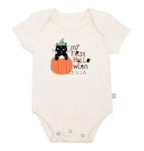 My First Halloweeen Onesie-Organic Halloween Onesie 'My first Halloween'