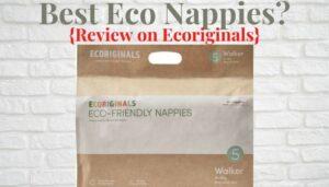 Best Eco nappies- Ecoriginal walker nappies pack
