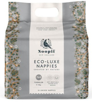 Best Eco nappies-Eco Luxe Noopii Nappies pack