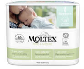 Biodegradable nappies In Australia-Newborn Moltex nappies