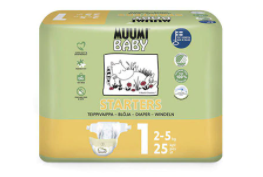 Biodegradable nappies in Australia-Newborn Eco Muumi nappies
