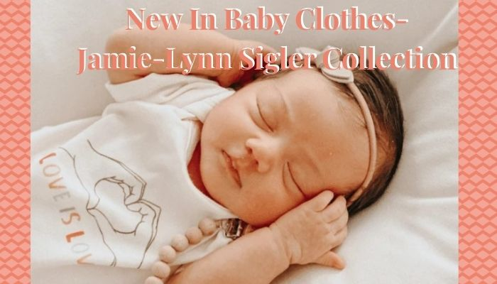 New in Baby Clothes-Jamie-Lynn Sigler Collection