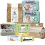 Best Biodegradable nappies in Australia-Newborn eco sample box
