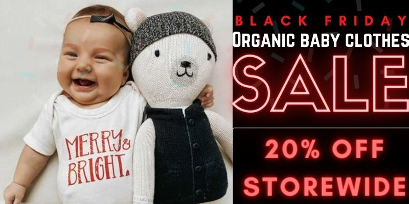 Black Friday Organic Baby Clothes Sale