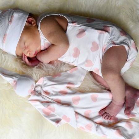 What is Oeko-Tex certified mean?-Baby wearing Oeko-Tex certified bamboo outfit.