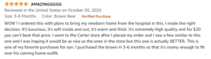 Review for Simple joys by Carter's Fleece footed jumpsuit pram.- Customer review.