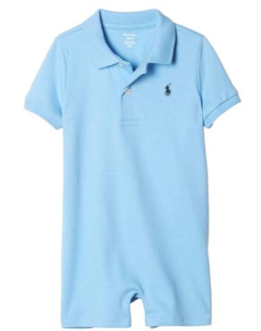 Ralph Lauren baby boy outfits-Polo Ralph Lauren Baby Boys Cotton Interlock Polo Shortal.